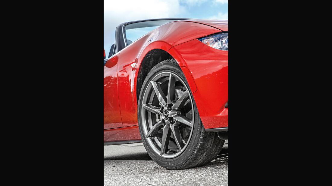 Mazda MX-5 Skyactiv 2.0 i-Eloop, Rad, Felge