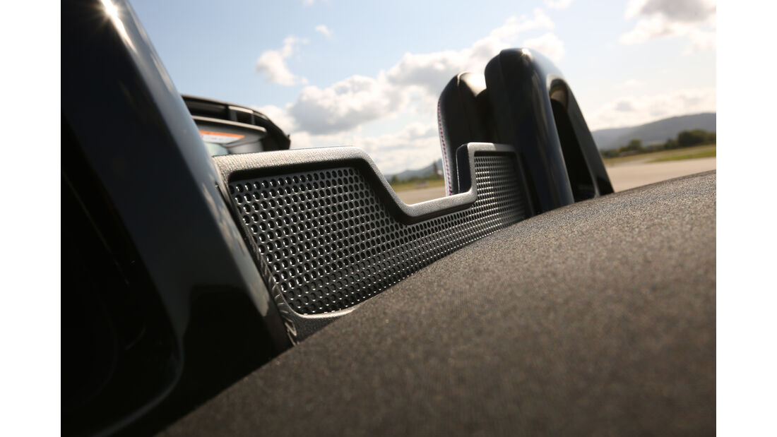 Mazda MX-5 Skyactiv-G 131, Kopfstütze