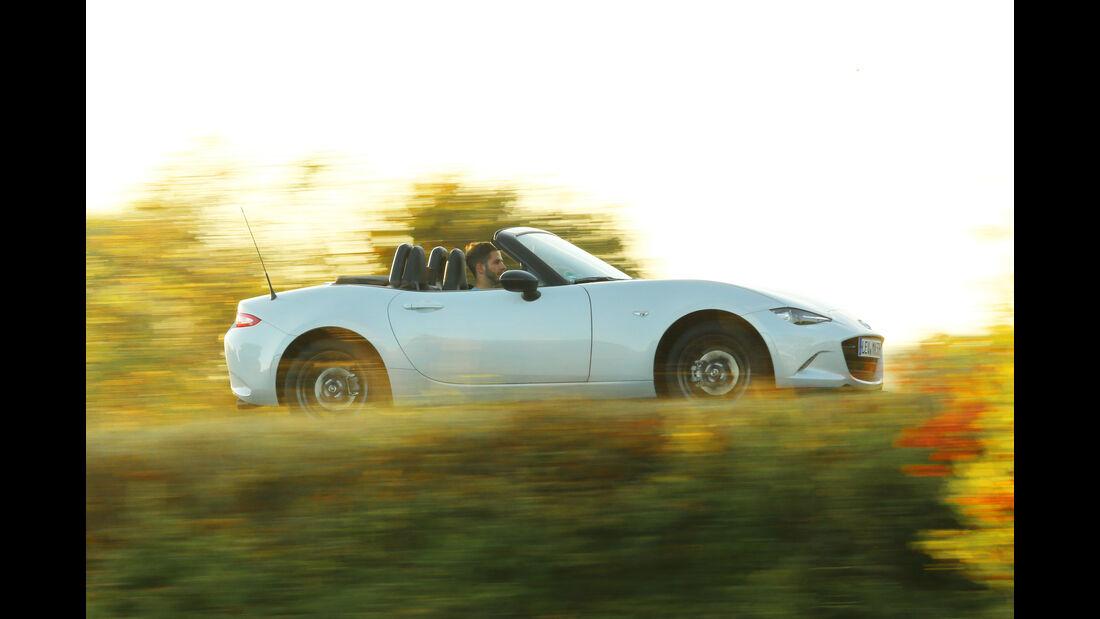 Mazda MX-5 Skyactiv-G 131, Seitenansicht
