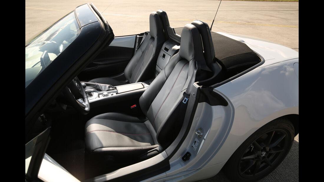 Mazda MX-5 Skyactiv-G 131, Sitze