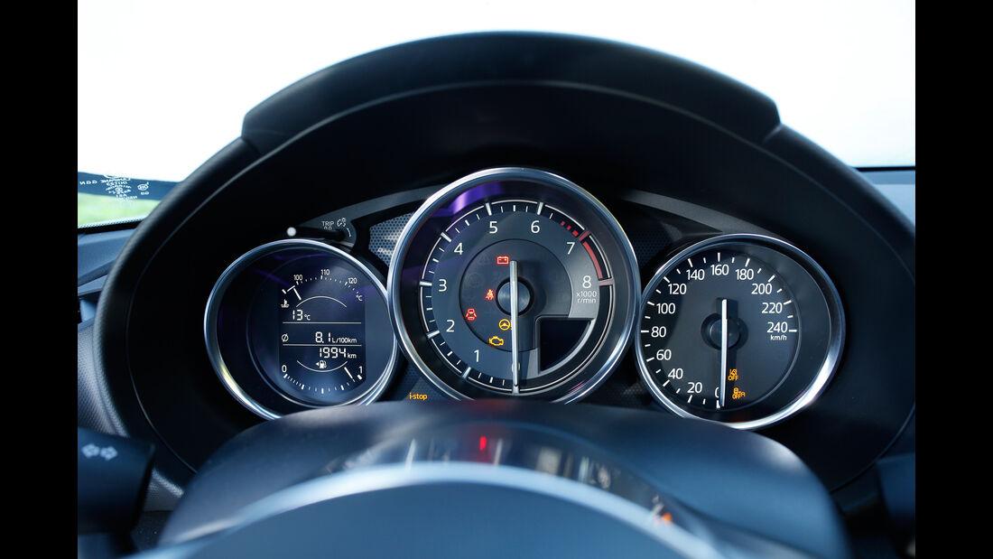 Mazda MX-5 Skyactiv-G 160, Rundinstrumente