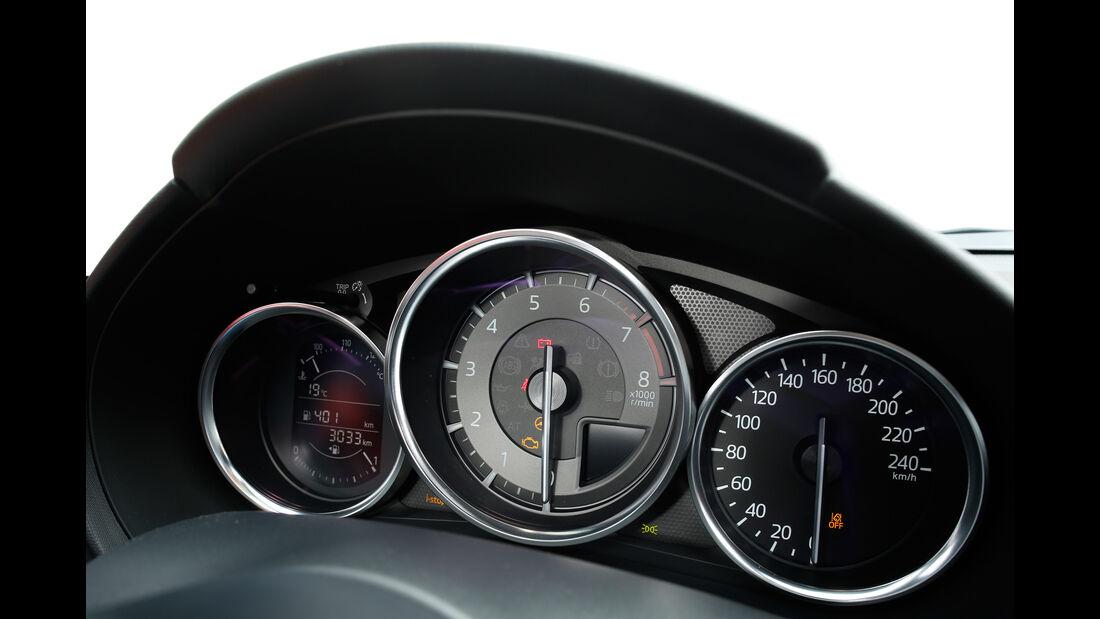 Mazda MX-5 Skyaktiv-G 160, Rundinstrumente