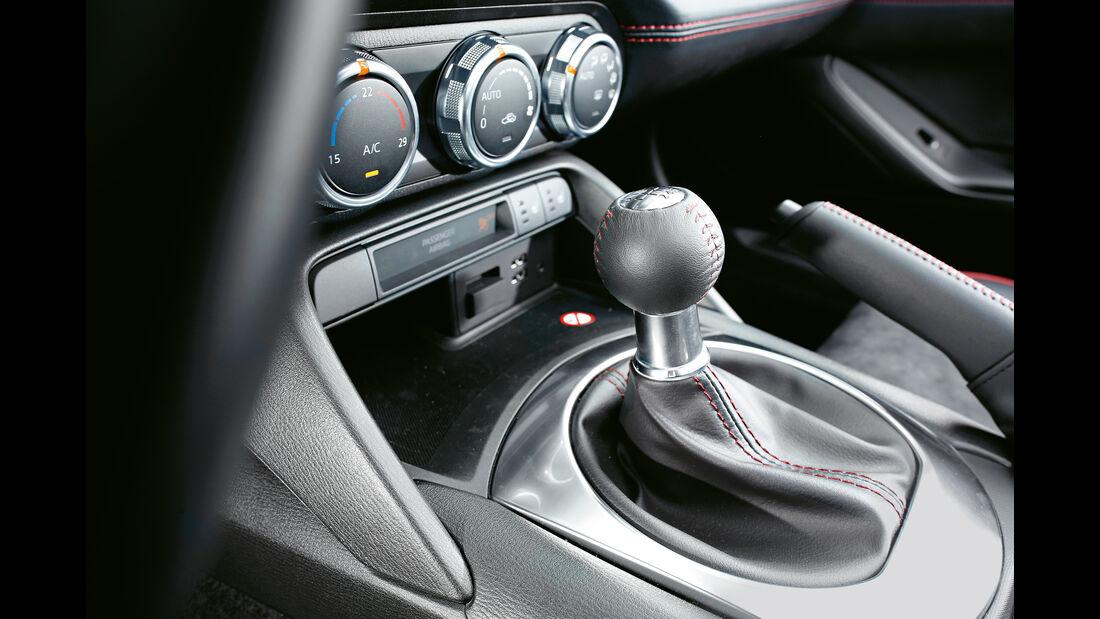 Mazda MX-5 Skyaktiv-G 160, Schalthebel