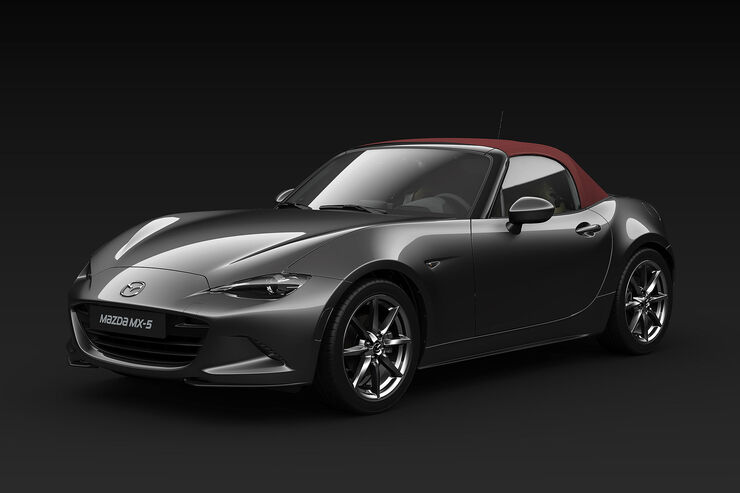 mazda mx 5 sakura sondermodell und motor update auto. Black Bedroom Furniture Sets. Home Design Ideas