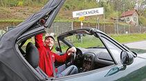 Mazda MX-5, Verdeck öffnen