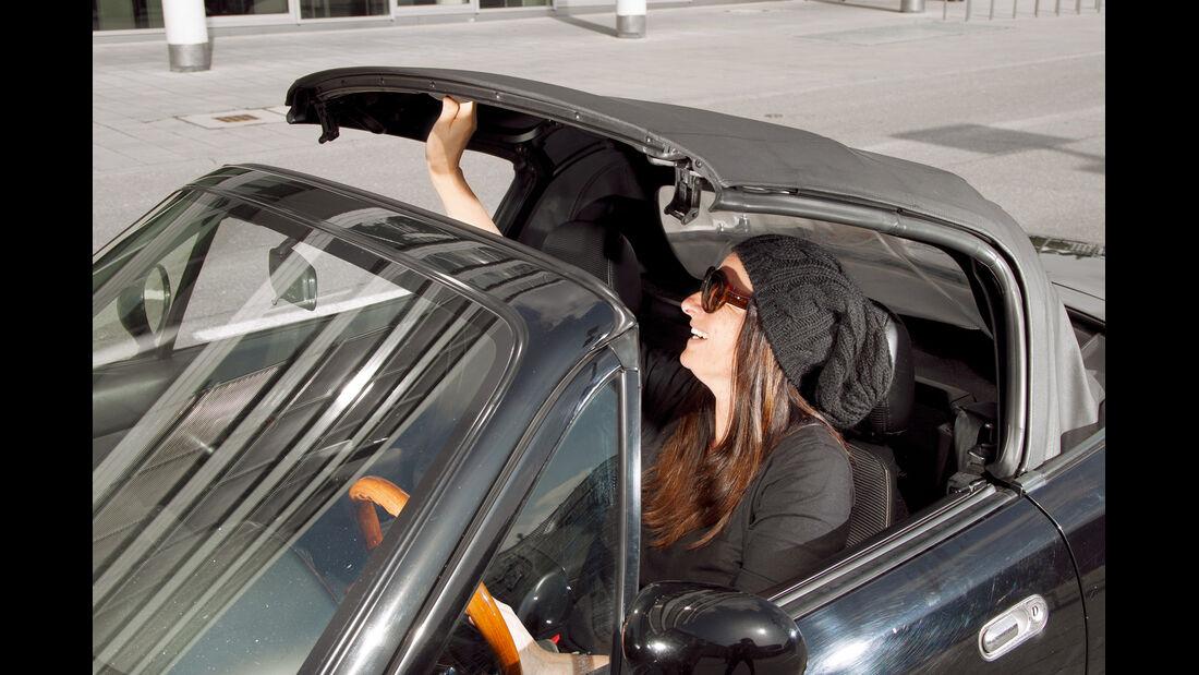 Mazda MX-5, Verdeck, schließen