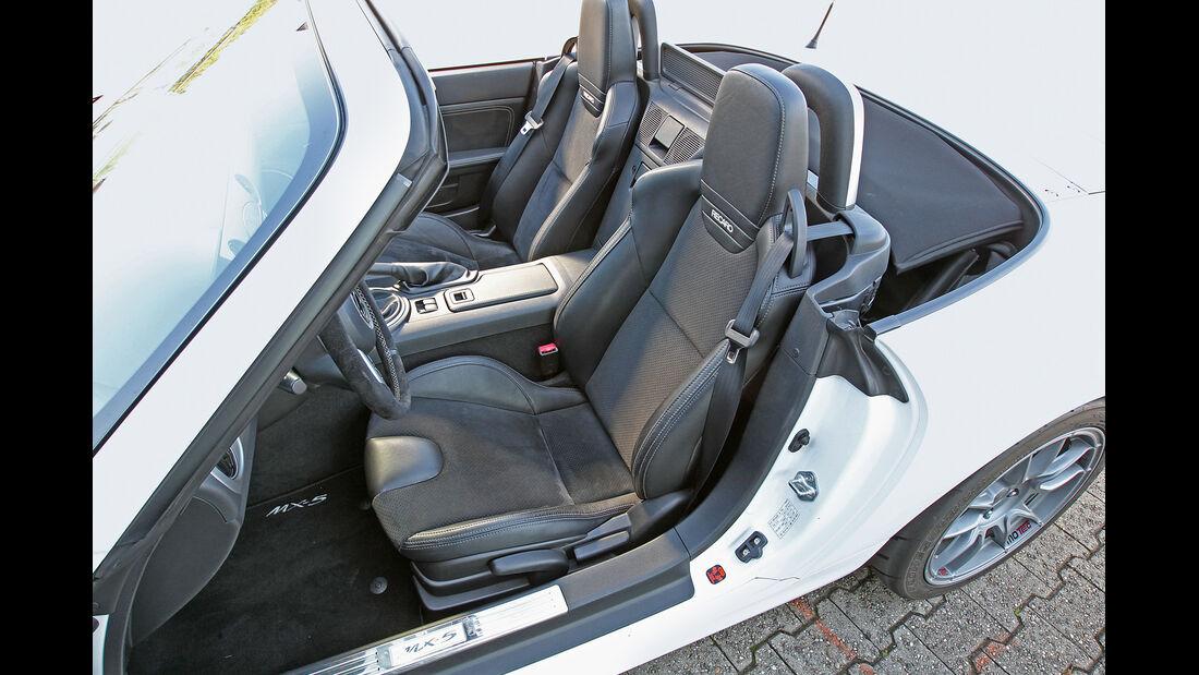 Mazda MX-5 Yusho, Fahrersitz, Sportsitz