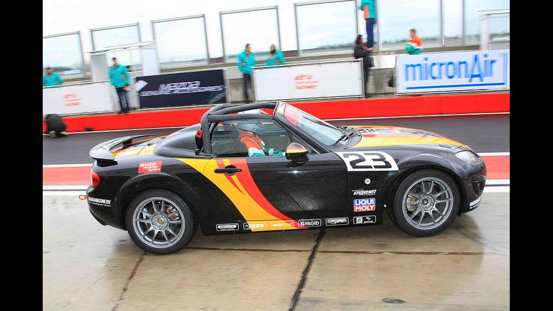 Mazda MX5 Open Race 2010 Rennen