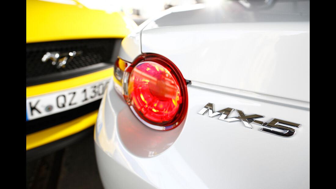 Mazda MX5 Skyaktiv G 131, Heckleuchte