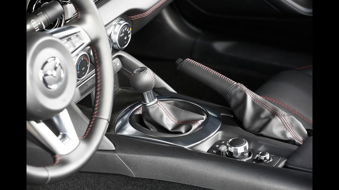 Mazda MX5 Skyaktiv G 131, Schalthebel