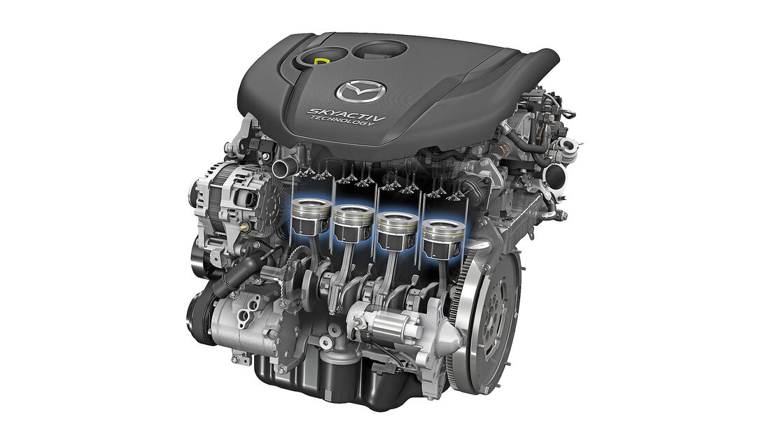 Mazda, Motor