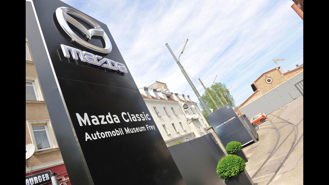Mazda-Museum außen