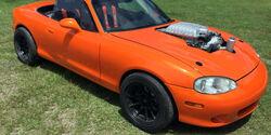 Mazda Mx-5 Miata Umbau Hellcat V8 Auktion Las Vegas