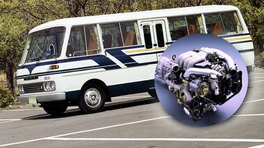 Mazda Parkway Rotary Super Deluxe 26 Wankelmotor Bus