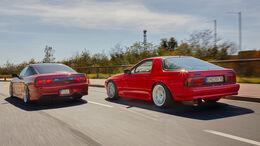 Mazda RX-7 Nissan 200SX