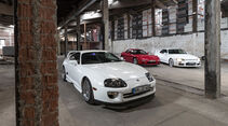 Mazda RX-7, Nissan Skyline, Toyota Supra, Impression