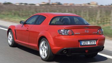 Mazda RX-8, Heckansicht