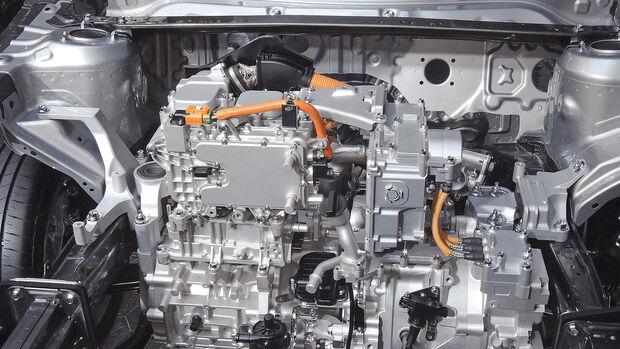 Mazda Range Extender, Motor