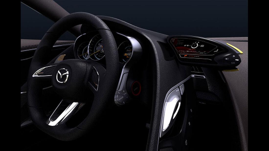 Mazda Shinari, Cockpit