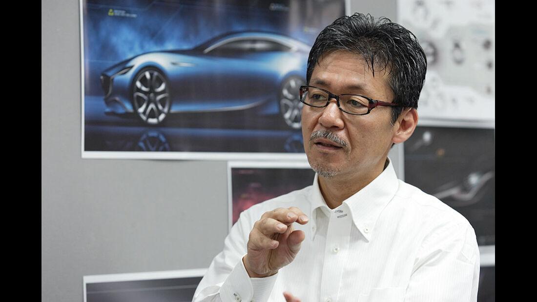 Mazda Shinari, Ikuo Maeda