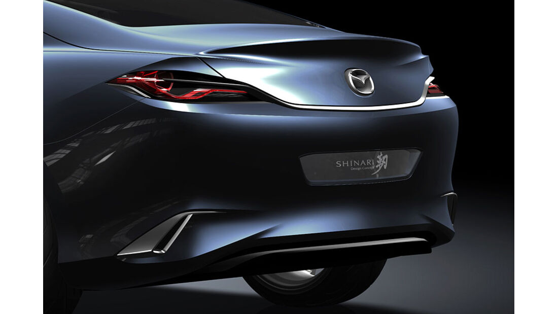 Mazda Shinari, Rückleuchten