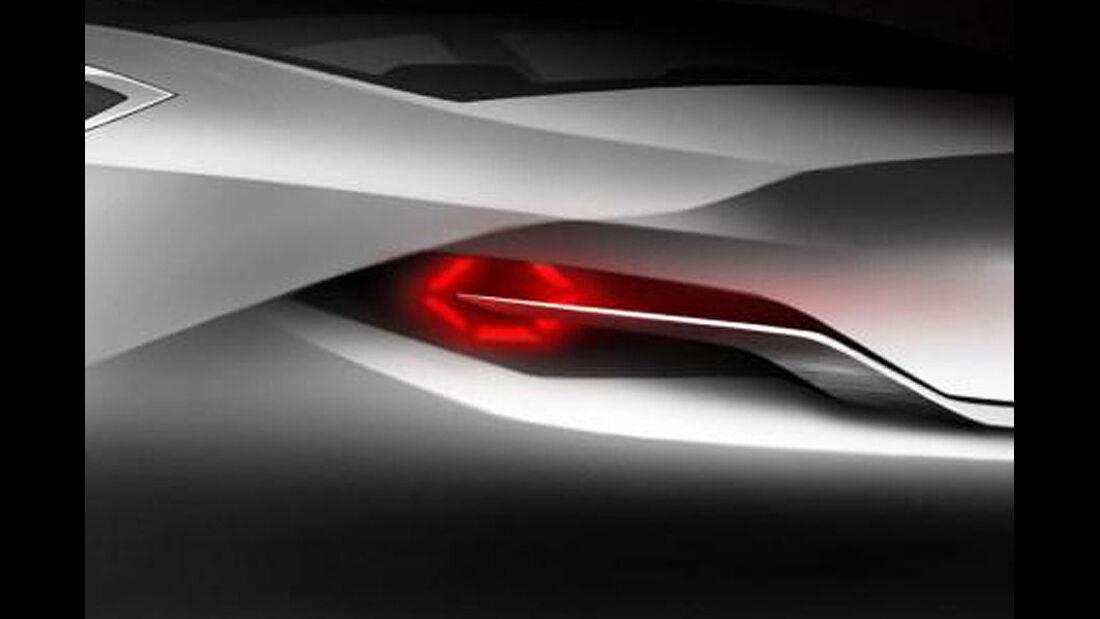 Mazda Shinari, Rücklichter