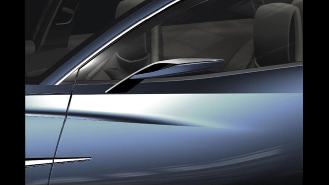 Mazda Shinari, Rückspiegel