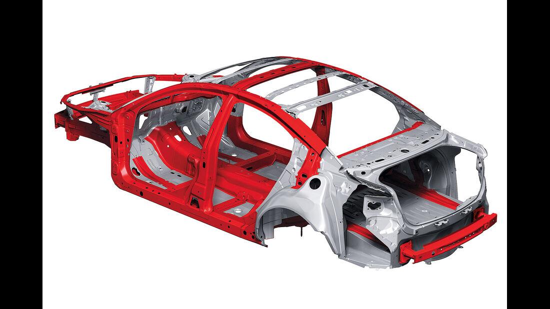 Mazda Skyactive, Karosserie