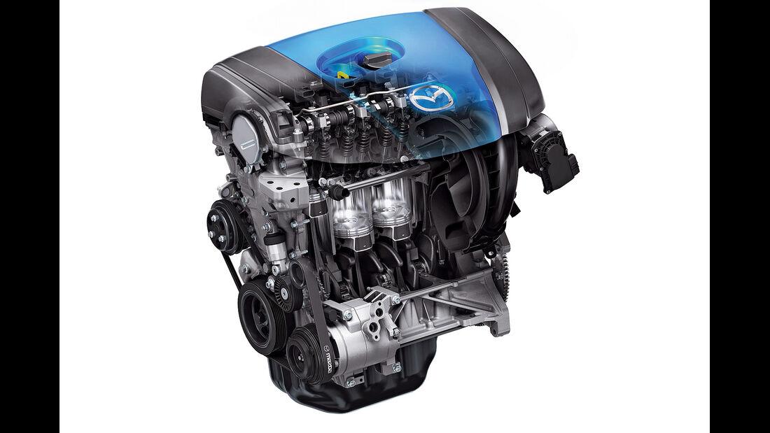 Mazda Skyactive, Motor