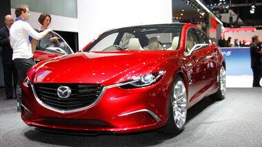 Mazda Takeri, Autosalon Genf 2012, Messe, Studie, Mazda 13