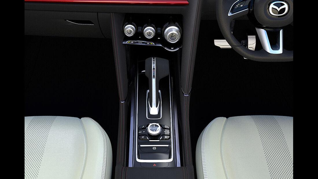 Mazda Takeri, Innenraum