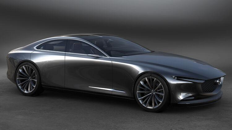 Mazda Mit Reihensechszylinder Heckantrieb Und Hybrid Auto