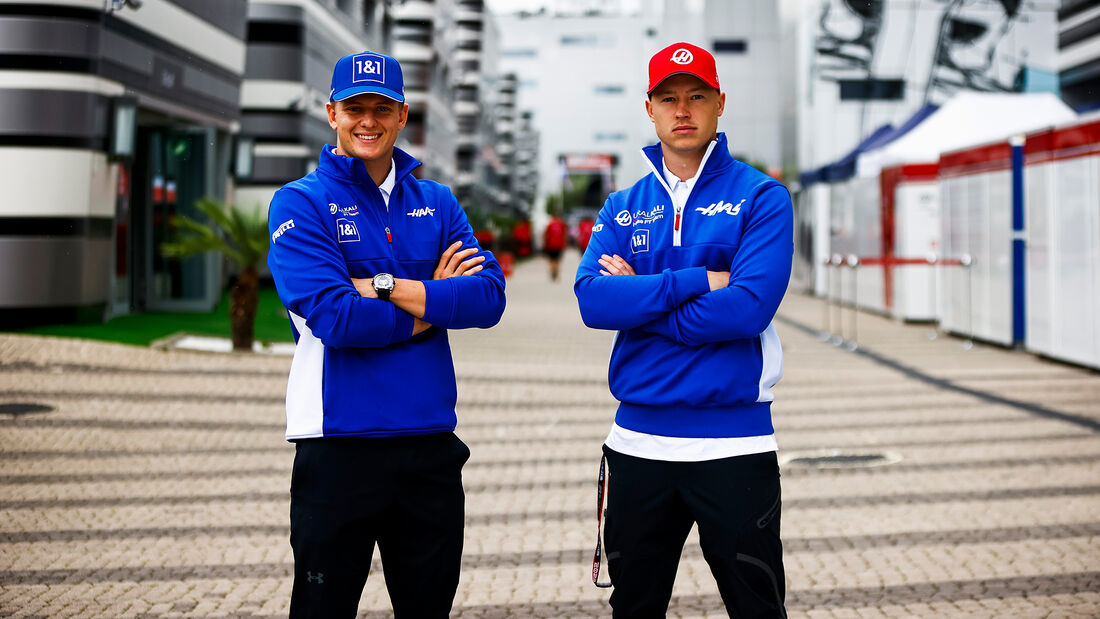 Mazepin vs. Schumacher - Formel 1 - GP Russland 2021