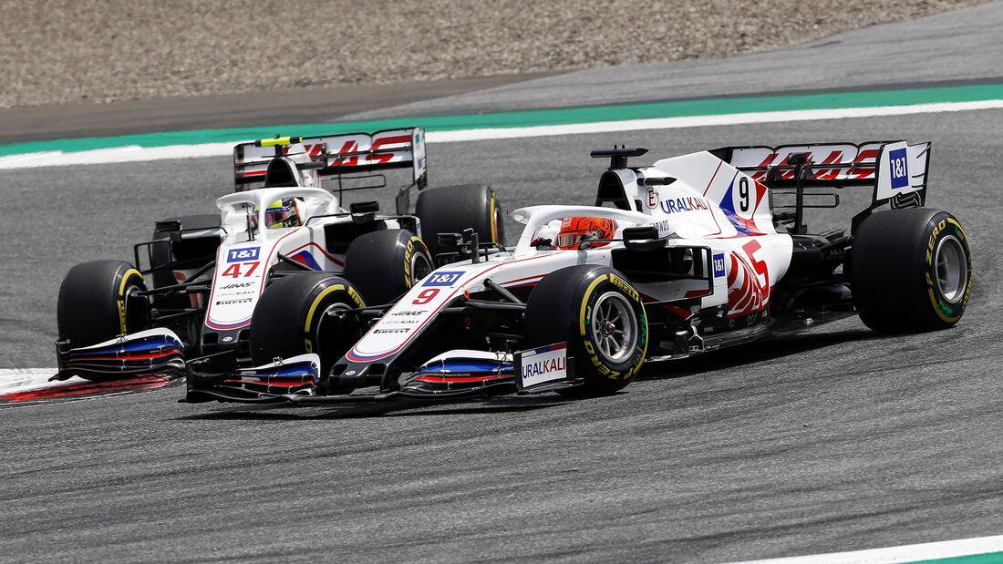 Mazepin vs. Schumacher - Formel 1 - GP Steiermark - Spielberg - 27. Juni 2021