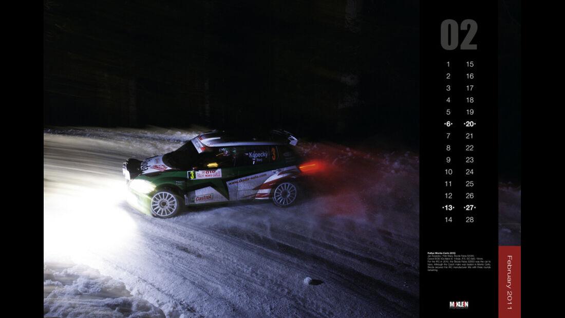 McKlein Rallye Kalender 2015