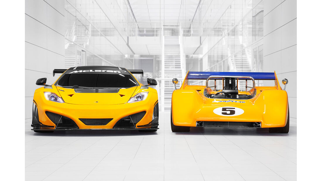 McLaren 12C Can-Am Edition und M8D Can-Am
