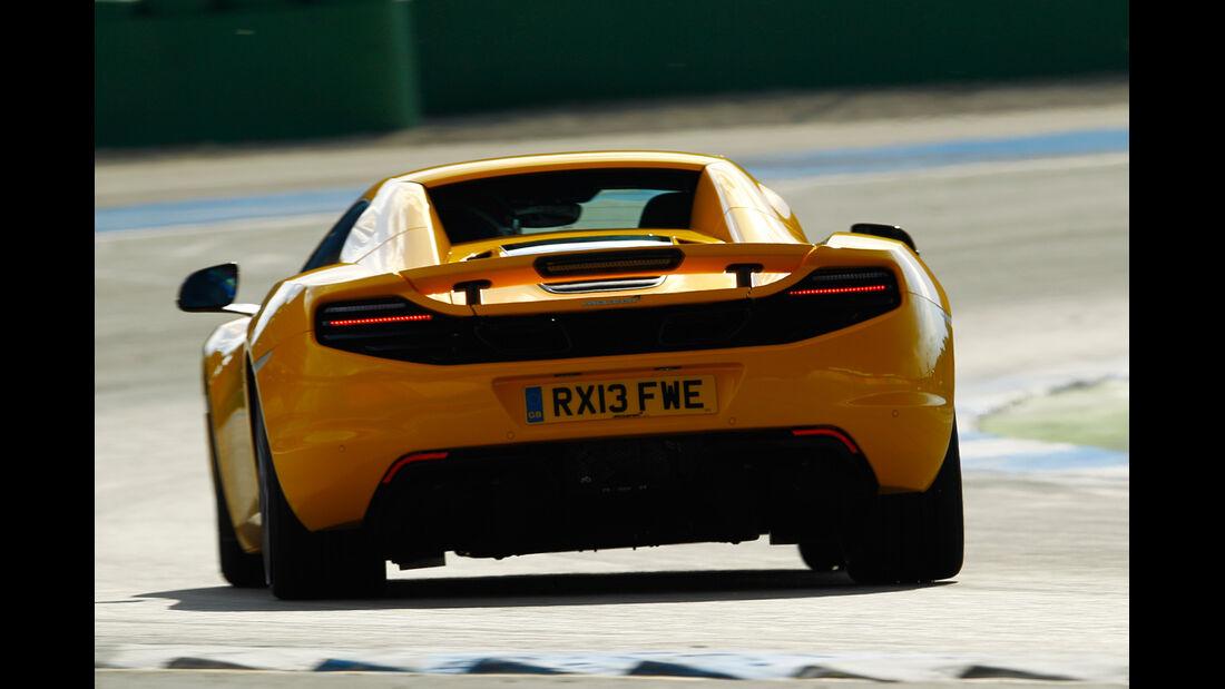 McLaren 12C Spider, Heckansicht