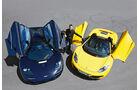 McLaren 12C Spider, Mc Laren F1, Frontansicht