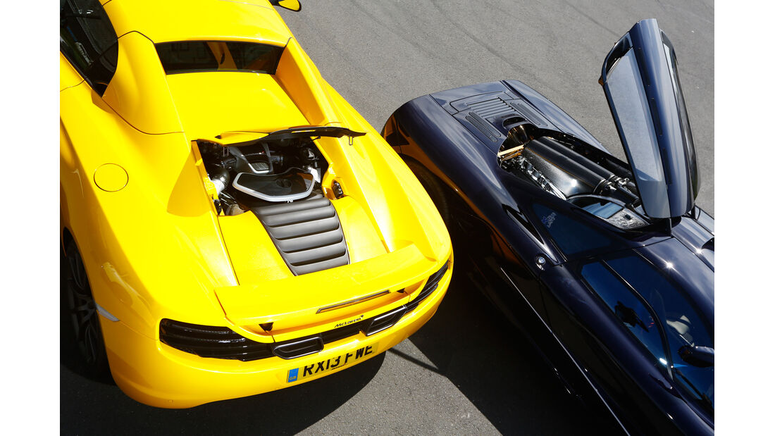 McLaren 12C Spider, Mc Laren F1, Motoren
