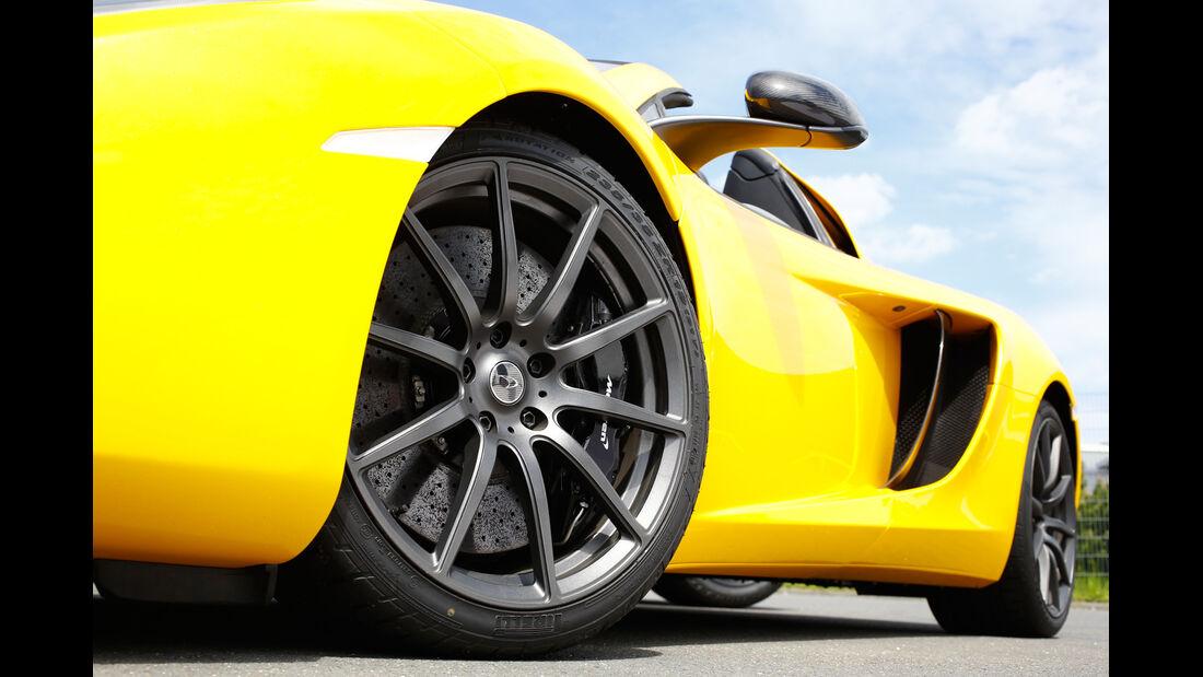 McLaren 12C Spider, Rad, Felge