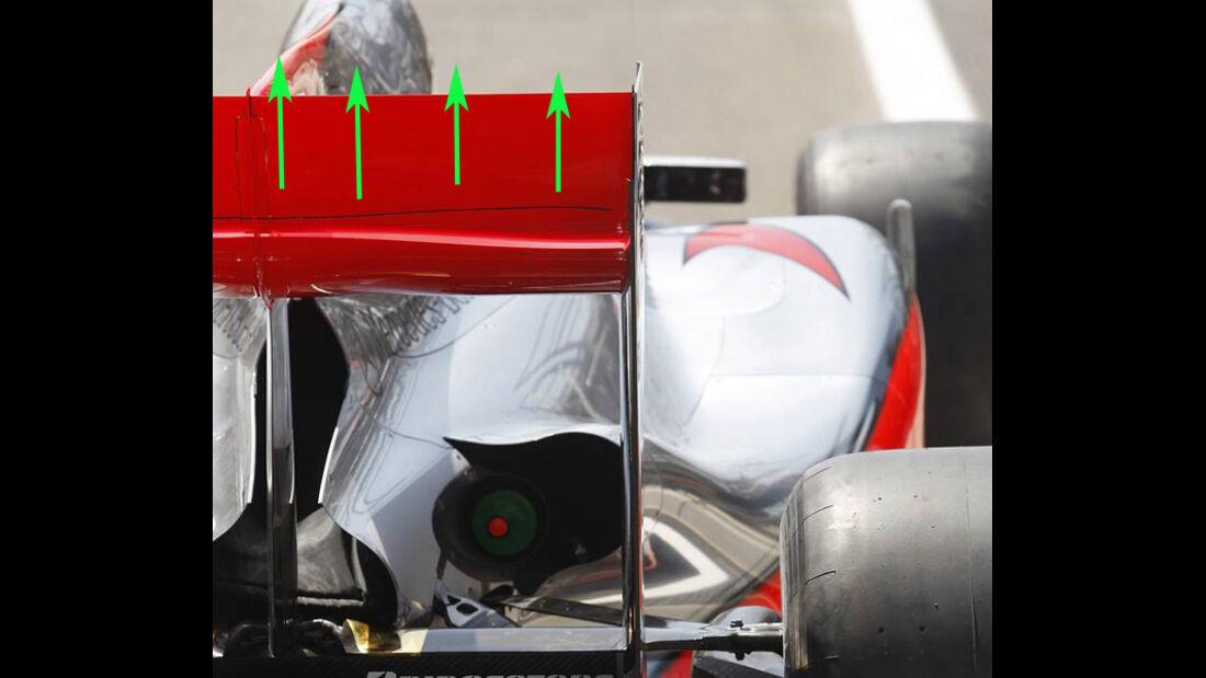 McLaren 2010 Test F-Schacht