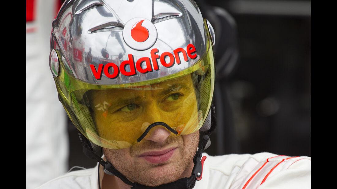 McLaren - 2013 - Mechaniker - Helme - Formel 1