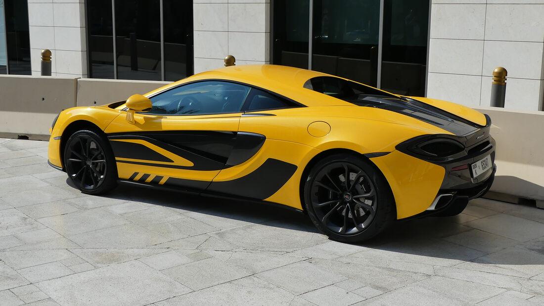 McLaren 540C - Carspotting - GP Abu Dhabi 2019