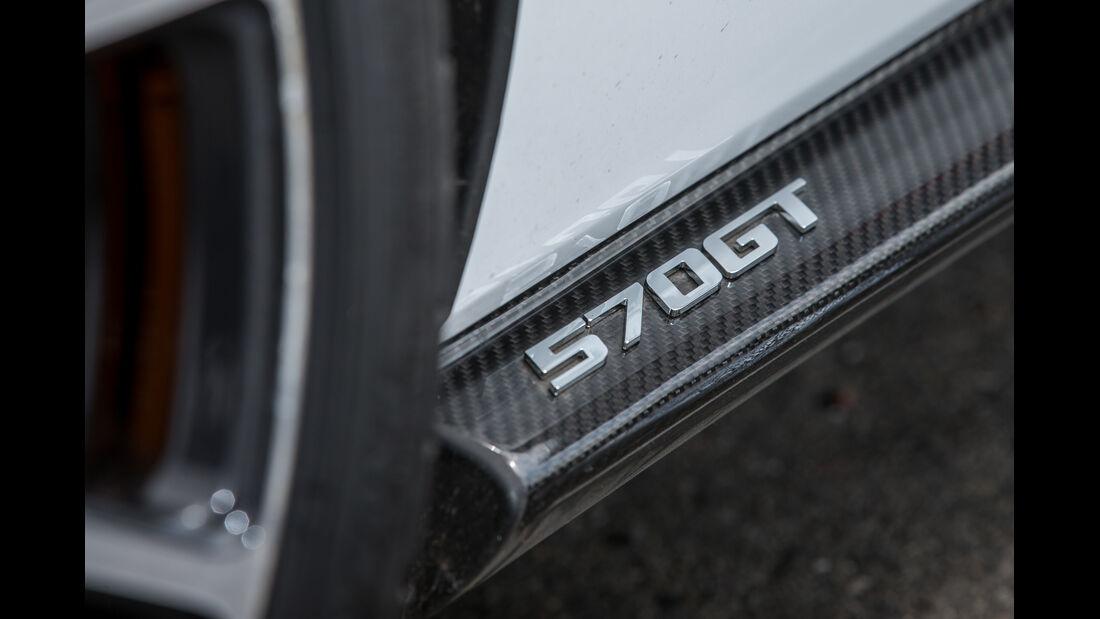 McLaren 570GT, Detail