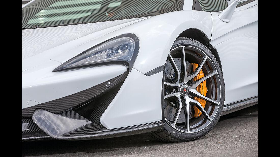 McLaren 570GT, Felge