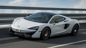 McLaren 570GT, Frontansicht
