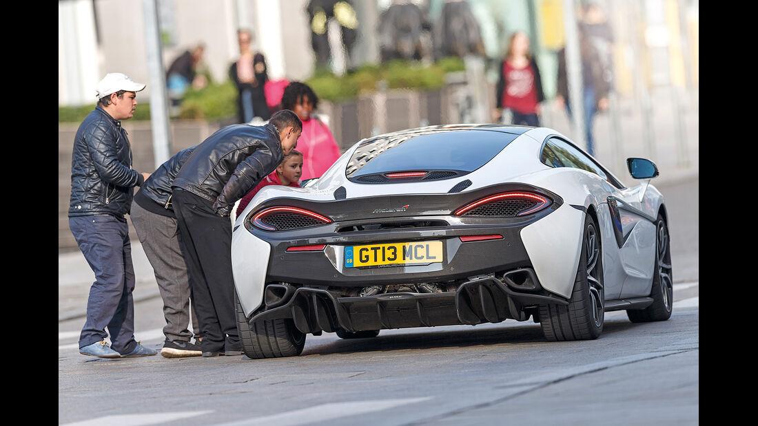 McLaren 570GT, Heckansicht