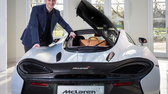 McLaren 570GT, Neuvorstellung, Sitzprobe, Sports Series, Autosalon Genf, 02/2016