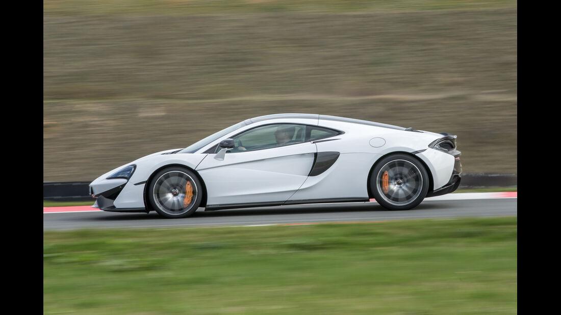 McLaren 570GT, Seitenansicht