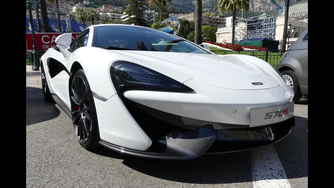 McLaren 570S - Carspotting - GP Monaco 2016